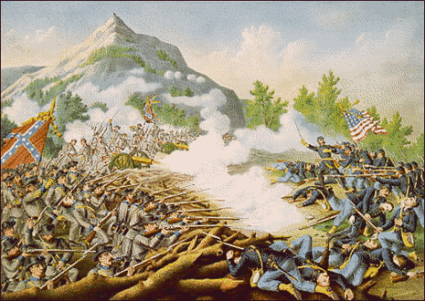 Battle of Kennesaw Mountain. Source: pageresource.com