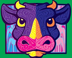 a_cow_of_a_different_color_by_daveweissamericanpop-d6n2r57