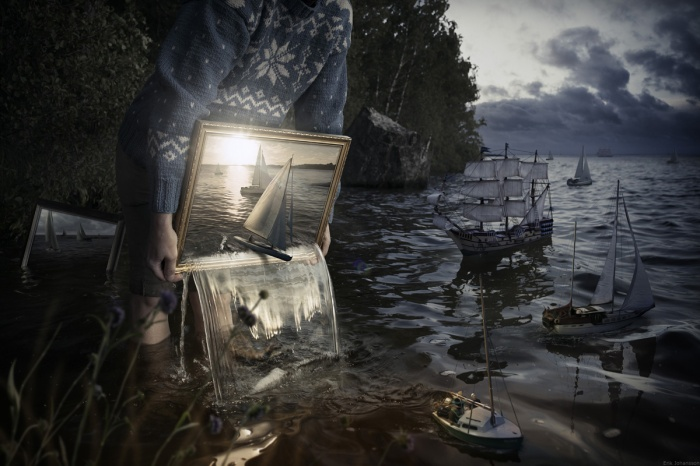 """Set them free"" (2012). Image credit: Erik Johansson Photography"